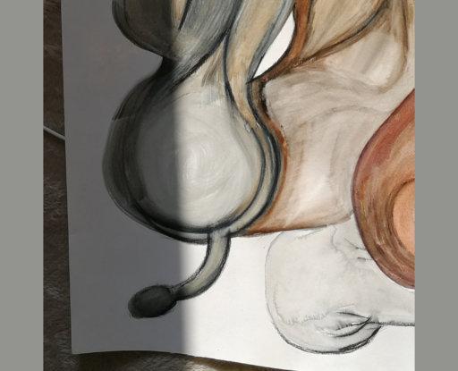 Thinker (detail) Johanna Härkönen